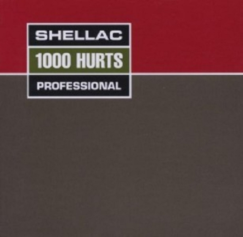 Shellac - 1000 Hurts  (Vinyl LP)  10 Tracks  Alternative Rock  Neuware